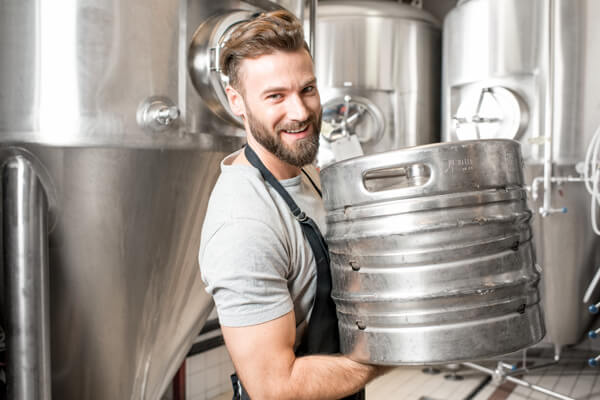 image shows brewery owner for business consulting by McLaughlin CPA Services Myrtle Beach SC