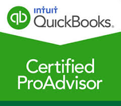 Image show QuickBooks Certified ProAdvisor Logo from McLaughlin CPA Services Myrtle Beach
